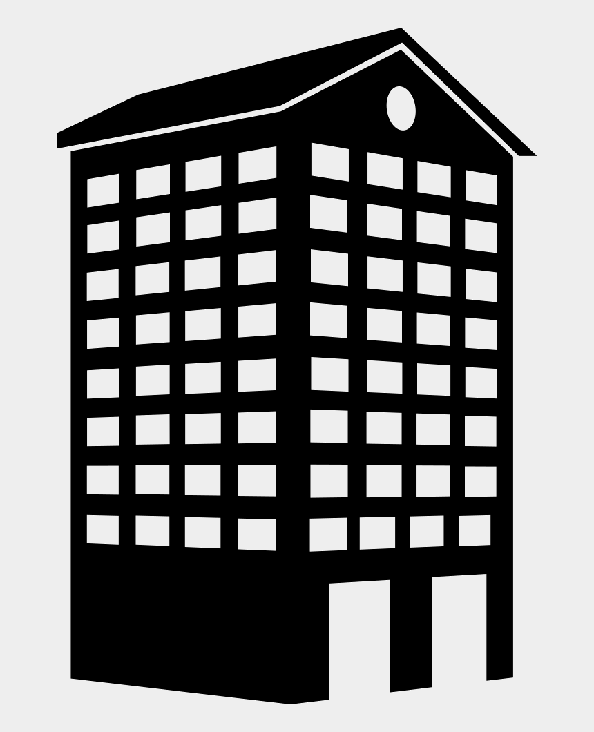 tall building clip art, Cartoons - Building Tower Like Tall House - Building Icon Png