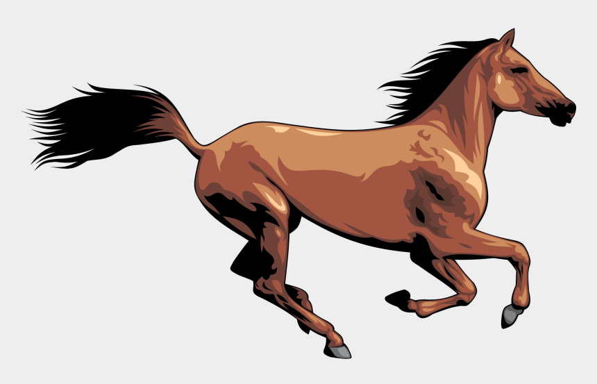 foal clip art, Cartoons - Running Horses Vector