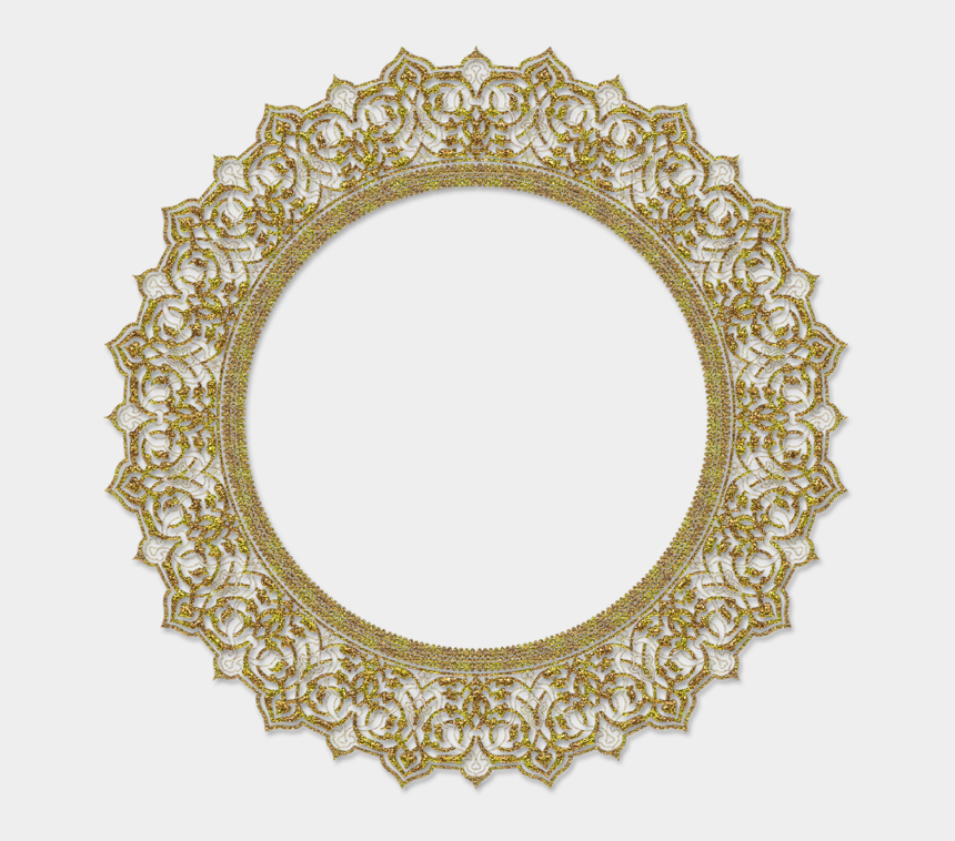 oval borders clip art, Cartoons - 0 F34d5 Bf597762 Orig Clipart , Png Download - Round Antique Mirror