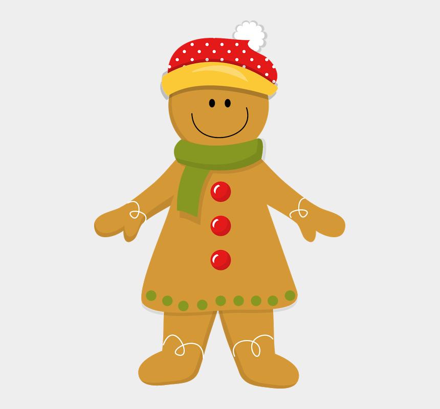 gingerbread girl clipart, Cartoons - Christmas Gingerbread Girl * Gingerbread Men, Christmas - Clip Art Gingerbread Man Christmas