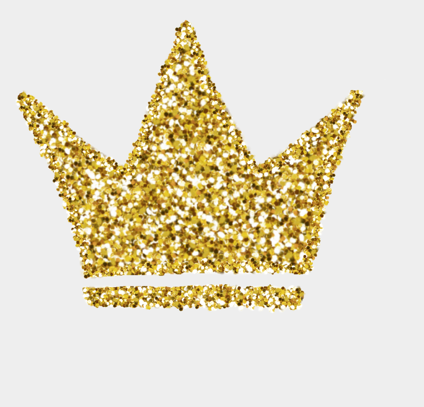 gold glitter crown clipart, Cartoons - #crown #glitter #gold #sparkles #goldcrown #picsart - Glitter Gold Crown Png