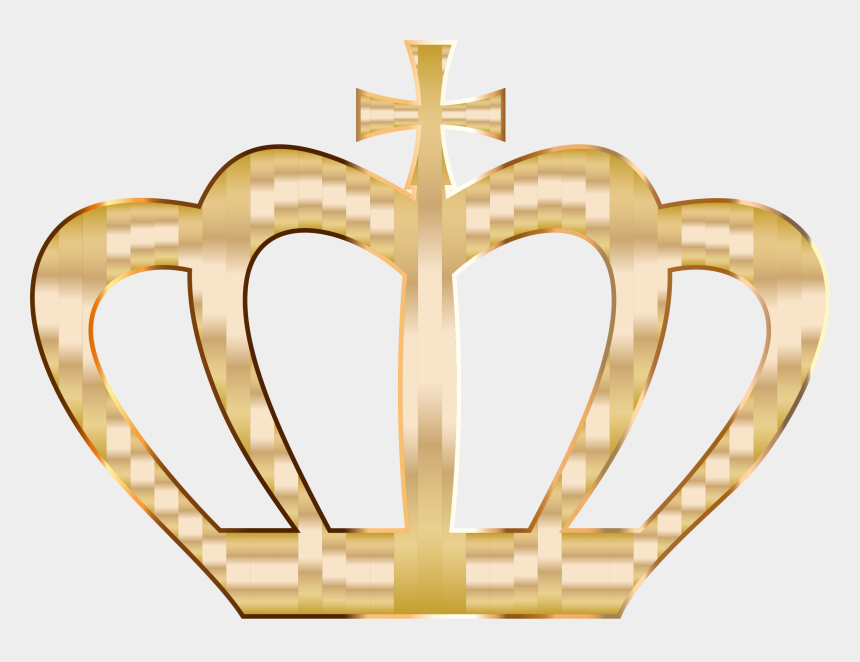 gold glitter crown clipart, Cartoons - Clip Arts Related To - Gold Heart With Crown