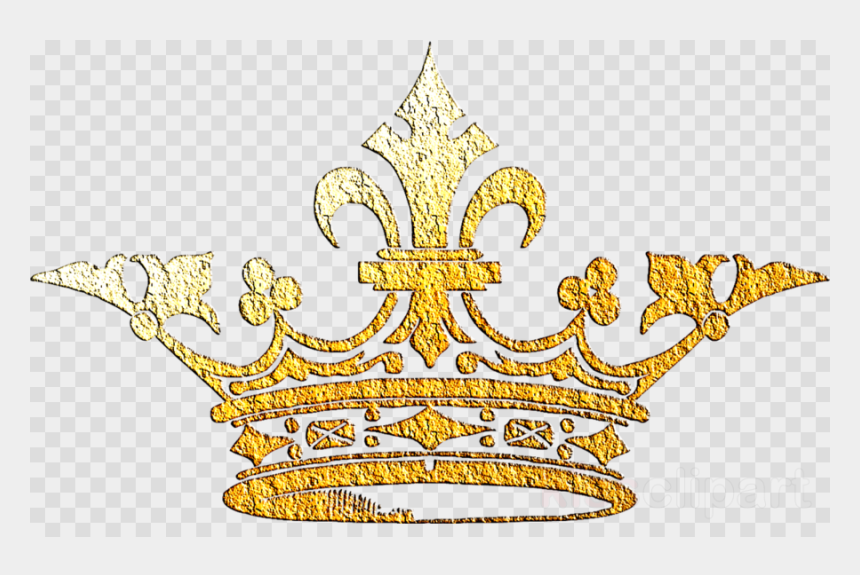 gold glitter crown clipart, Cartoons - Crown Cliparts Transparent Royal - Queen Crown Transparent Png