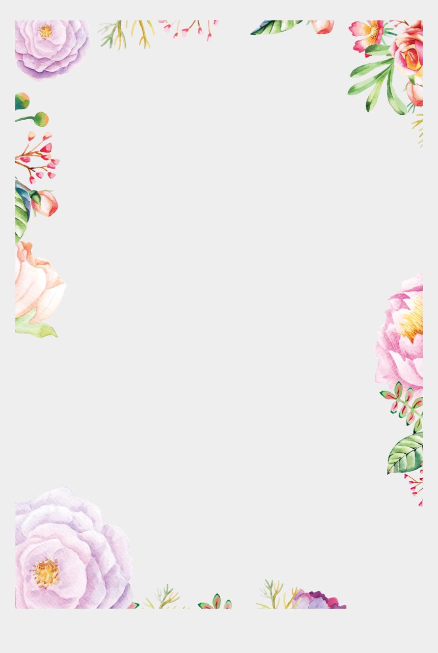 vintage flowers clipart, Cartoons - Decorative Vintage Wreath Watercolour Watercolor Flowers - Vintage Flower Wreath Watercolor