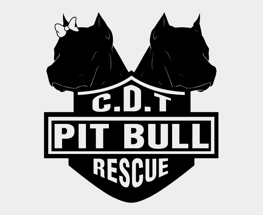 casa clipart, Cartoons - Pitbull Clipart Brindle Dog - Illustration
