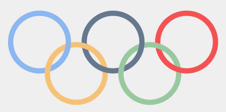 olympic rings clipart, Cartoons - Olympic Rings Png - Olympic Logo No Background