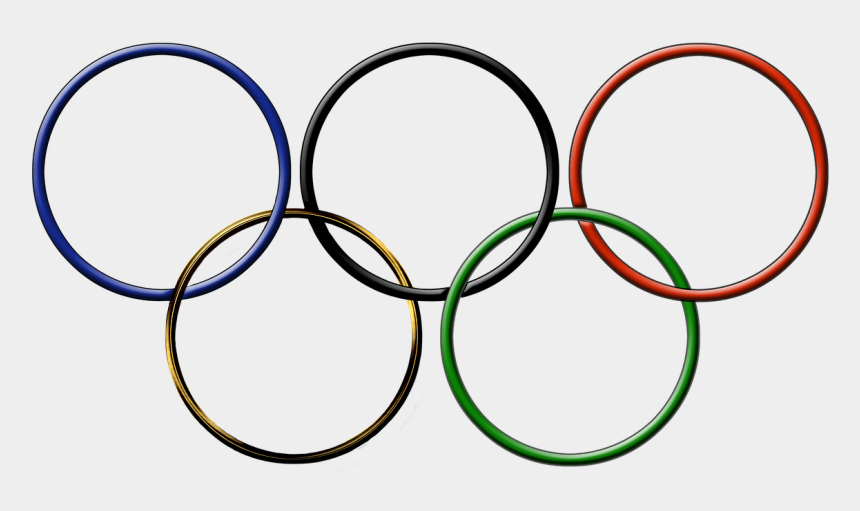 olympic rings clipart, Cartoons - Olympic Rings Clipart - Mcdonalds Sponsoring Olympics