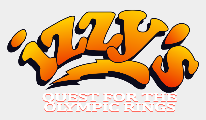 olympic rings clipart, Cartoons - Izzy S Quest For The Olympic Rings Ⓒ
