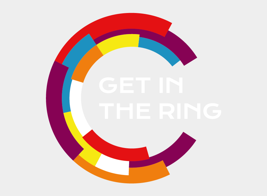 olympic rings clipart, Cartoons - Close Get In The Ring - Get In The Ring Logo