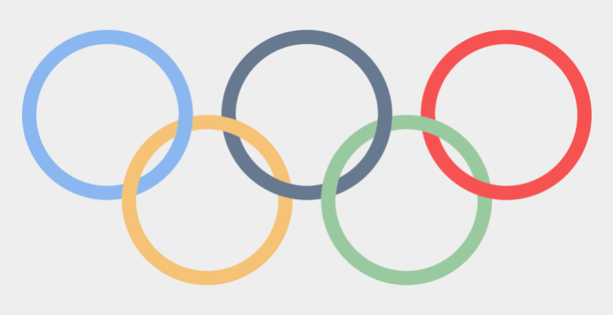 olympic rings clipart, Cartoons - Olympic Rings Png, Download Png Image With Transparent - Olympic Logo No Background