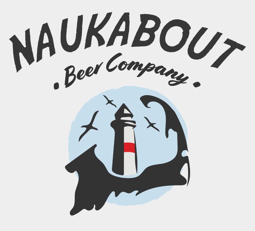 pina colada clipart, Cartoons - Naukabout Beer Co - Naukabout Brewery Logo
