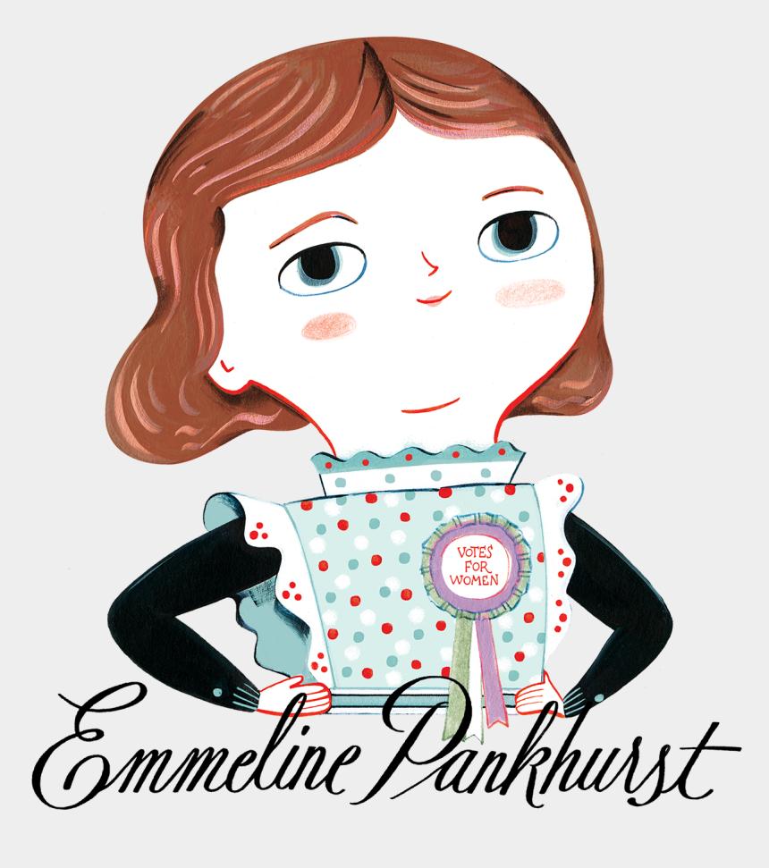 audrey hepburn clipart, Cartoons - Ana Sanfelippo Emmeline Pankhurst - Emmeline Pankhurst Little People Big Dreams