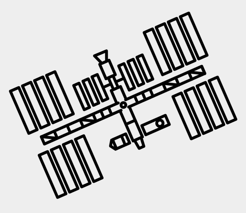 gasoline station clipart, Cartoons - International Space Station Clip Art - Space Station Easy Drawing