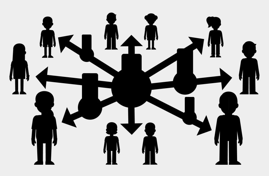public relations clip art, Cartoons - Public Relations Social Group Human Behavior Line - Silhouette