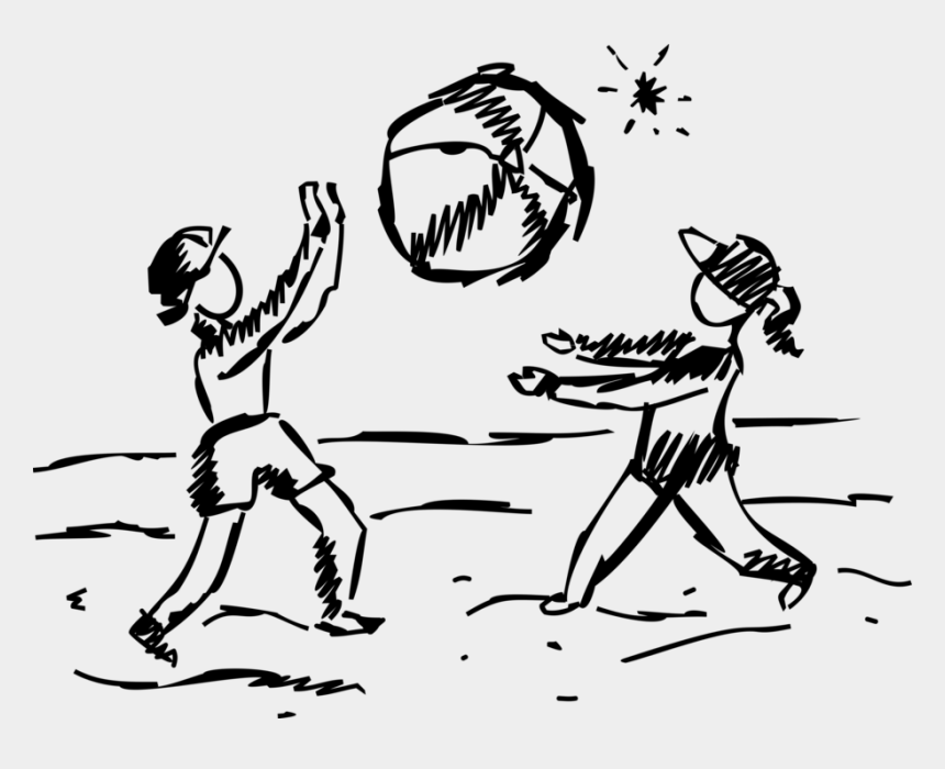 beach ball clip art black and white, Cartoons - Vector Illustration Of Family Summer Holiday Vacation - Holiday Family Beach Vector