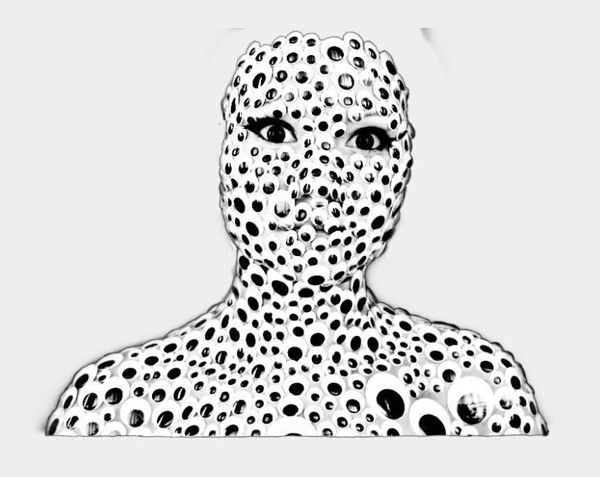 googly eyes clip art black and white, Cartoons - #sticker #stickeredit #eyes #googlyeyes #madewithpicsart - Costume Googly Eyes Face