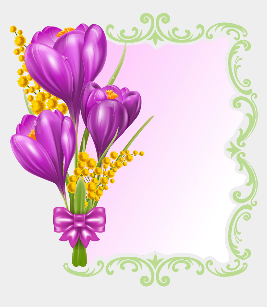 spring tulips clip art, Cartoons - #ftestickers #spring #background #illustration #tulips - Beautiful Butterfly Pictures Of Flowers