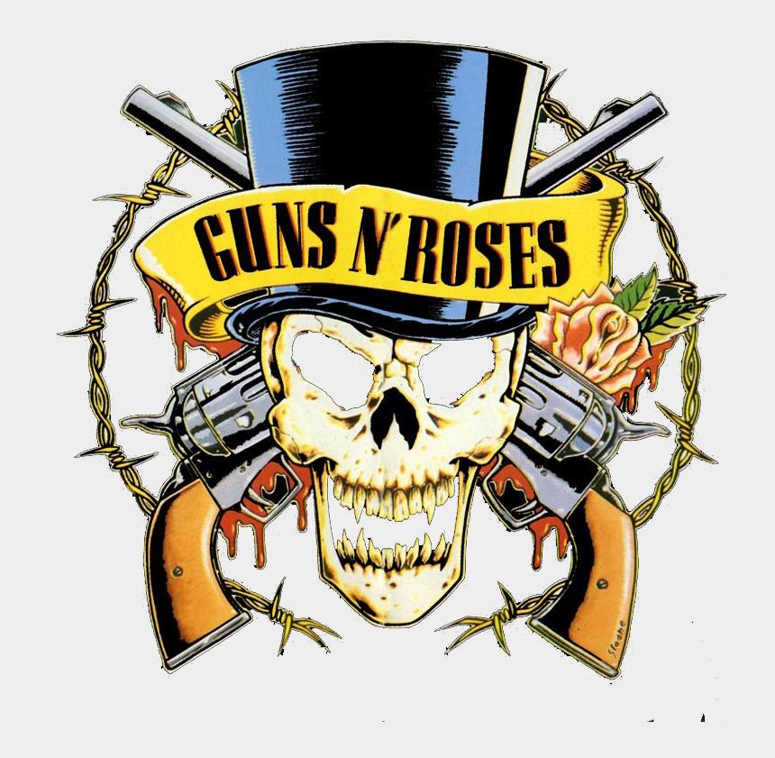 guns n roses clip art, Cartoons - Guns N Roses - Guns N Roses Skull Logo