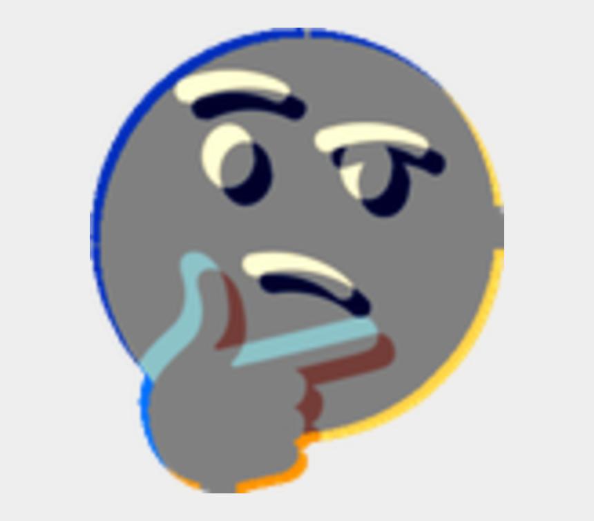 thinking emoji clip art, Cartoons - Thinking Emoji Clip Art - Transparent Thonk Png Think Emoji Meme