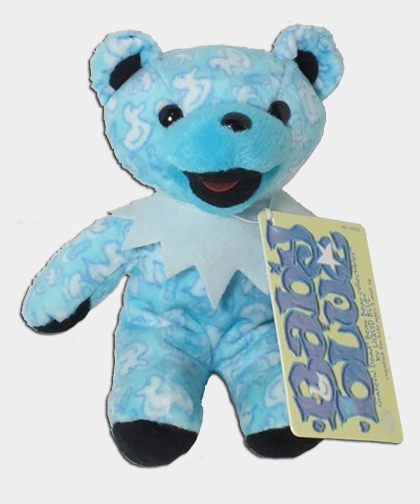 dancing bear clip art, Cartoons - Grateful Dead Baby Blue Bean Bear - Teddy Bear
