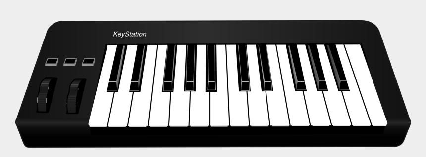 piano keyboard images clip art, Cartoons - Midi Keyboard Png