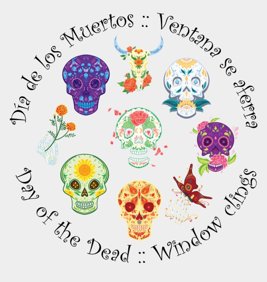 halloween skull clip art, Cartoons - Dia De Los Muertos - Skull