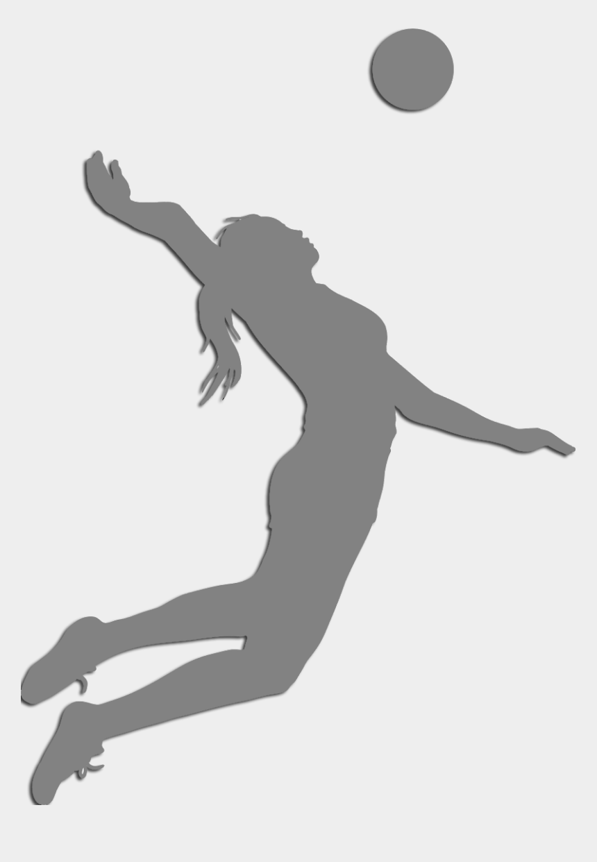 volleyball player clip art, Cartoons - Volleyball Sport Clip Art - Volleyball Girl Silhouette Png