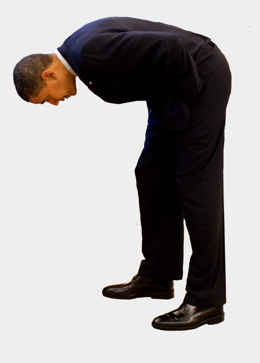 standing man clipart, Cartoons - Obama Standing Png - Man Looking Down Png