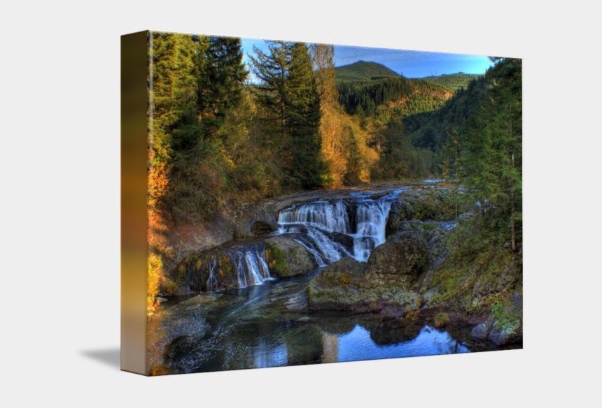 free waterfall clipart, Cartoons - Drawing River Waterfall - Waterfall
