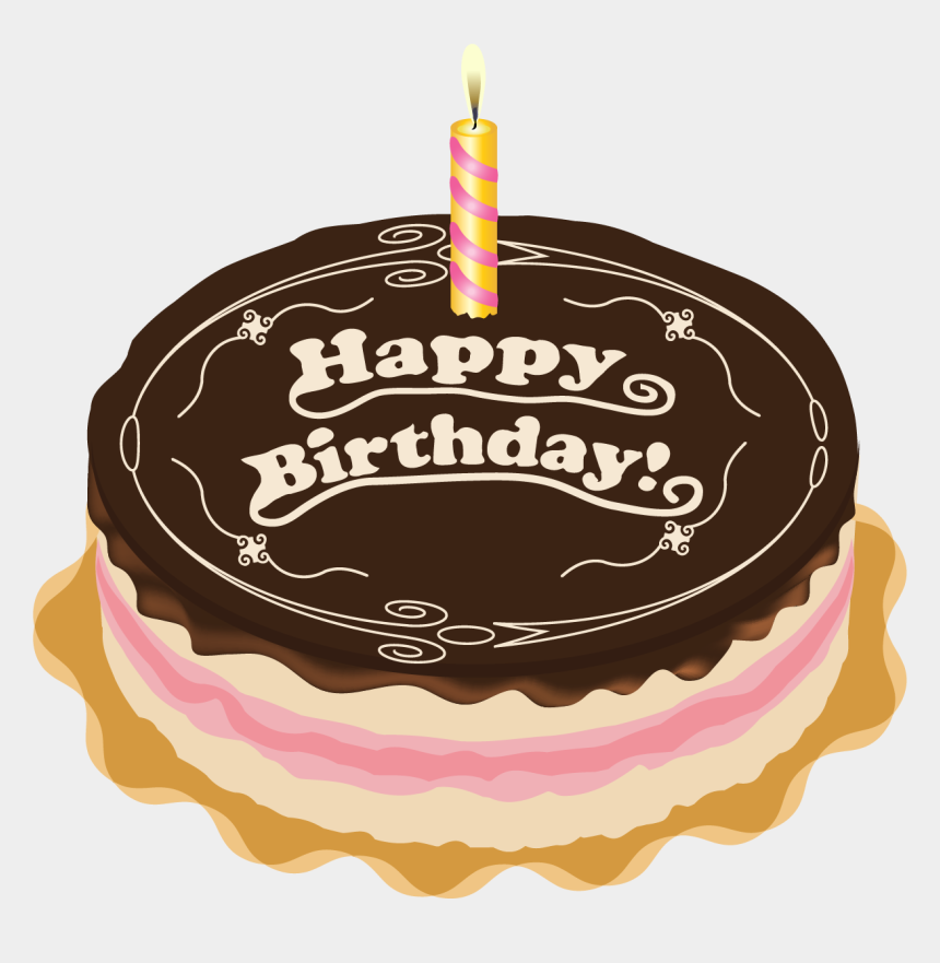 free clipart birthday cake with candles, Cartoons - Happy Birthday Cakes Pngs