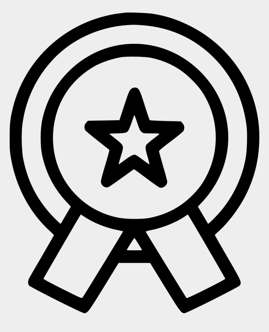 medal of honor clip art, Cartoons - Medal Bagde Honor Ribbon Star Achievement Award - Star And Moon Ramadan