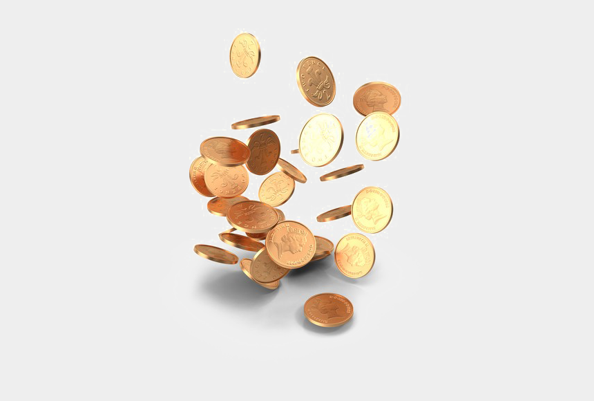 falling coins clipart, Cartoons - Falling Coins Image Free Download Image - Falling Coins Money Png