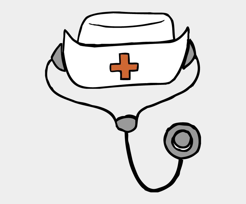 Nurses Hat Clip Art Transparent Background Nurse Clip Art