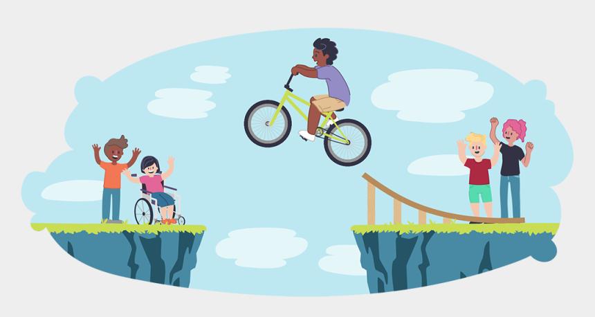 excitement clipart, Cartoons - Let's Talk About Taking Risks - Risk Management Kids