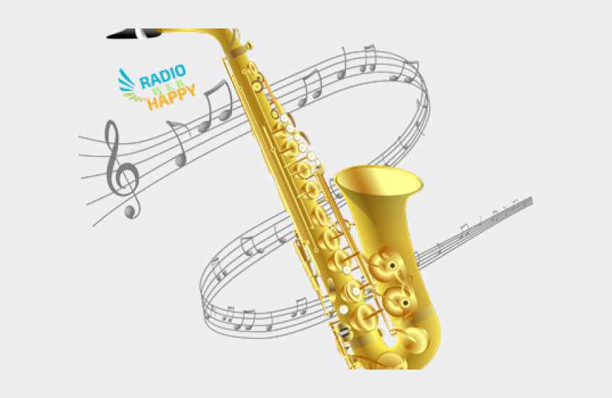 smooth clipart, Cartoons - Instrument Clipart Smooth Jazz - Transparent Background Saxophone Clipart