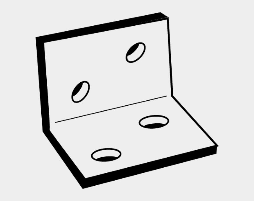 decorative brackets clip art, Cartoons - Decorative Brackets Clip Art - Line Art