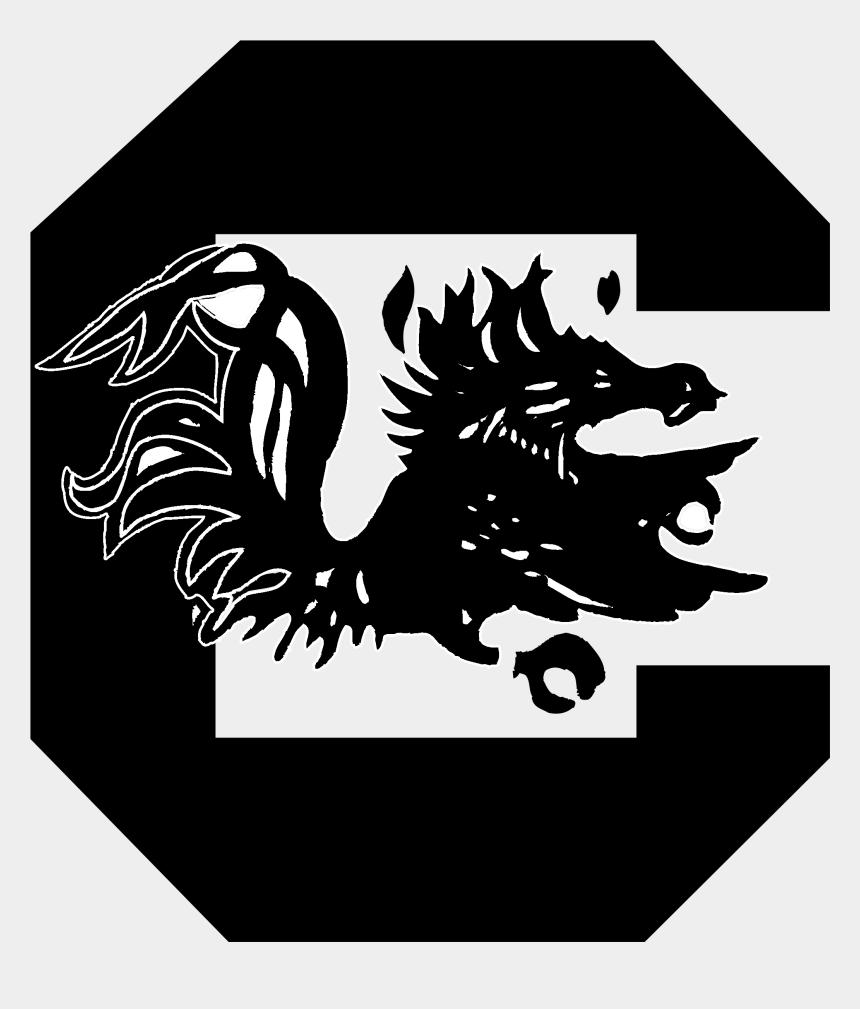 usc gamecock clip art, Cartoons - South Carolina Logo Png Transparent & Svg Vector - University Of South Carolina Columbia Mascot