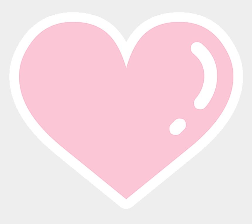 pastel heart clip art, Cartoons - #heart #pink #kavai #cute #pastel - Cute Pastel Pink Heart