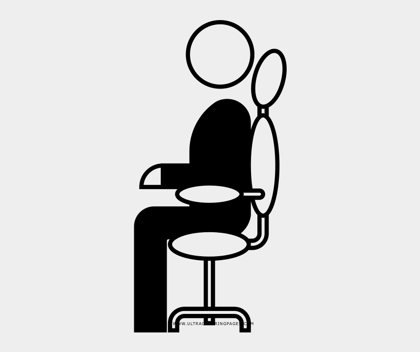 clerk coloring page office chair cliparts cartoons jing fm jing fm