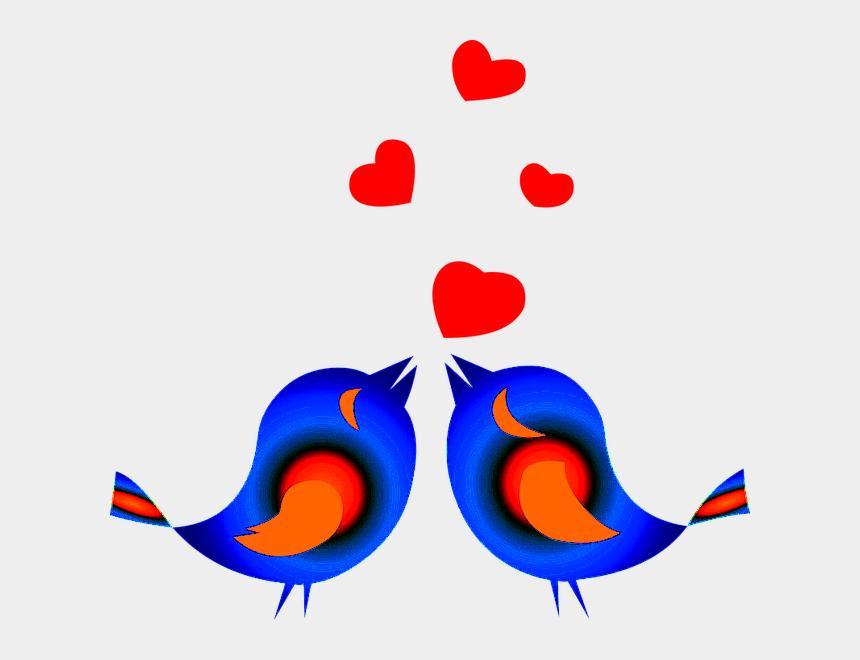 persistence clip art, Cartoons - Love Birds Clipart Png