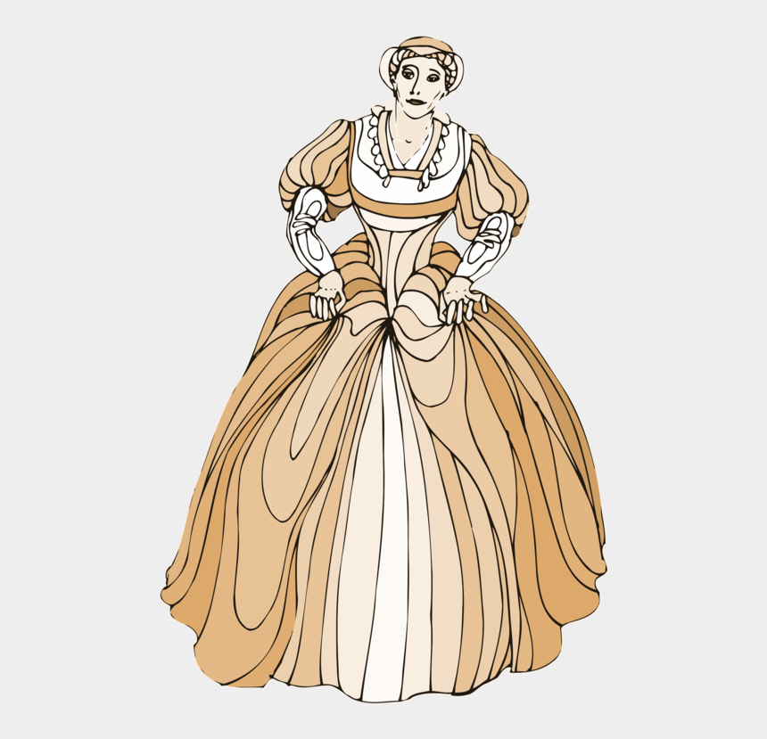victorian fashion clip art, Cartoons - Gown,victorian Fashion,art - Clipart Images Of Shakespeare Characters