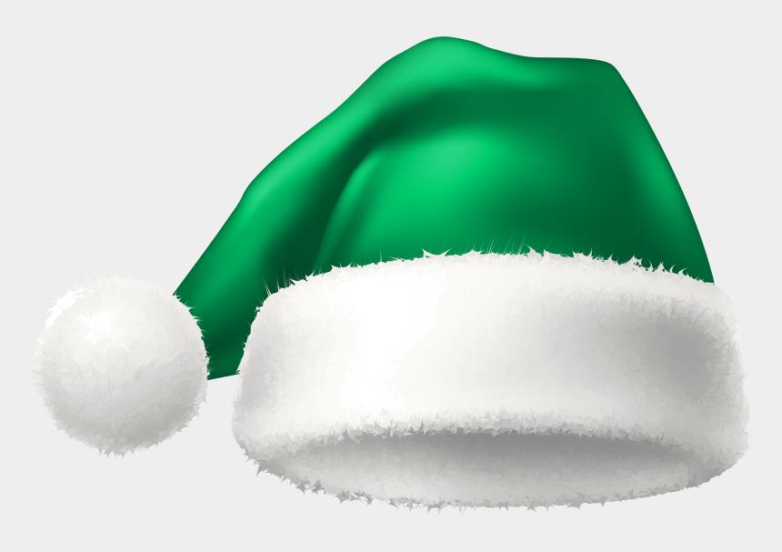 stocking hat clip art, Cartoons - Elf Transparent Winter - Green Christmas Hat Png