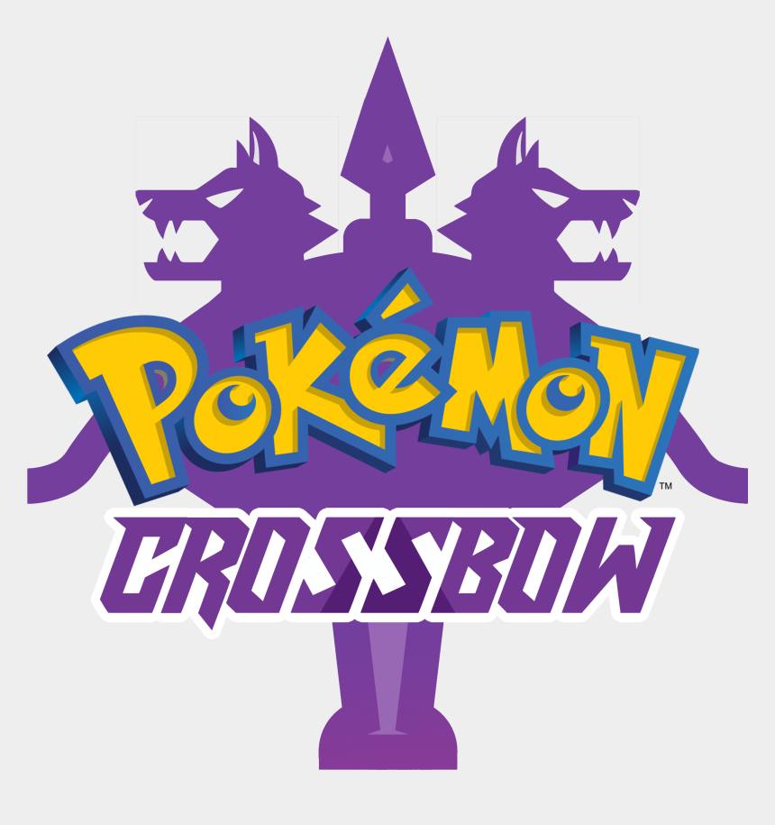 crossbow clip art, Cartoons - Pokemon Sword And Shield Logo Png