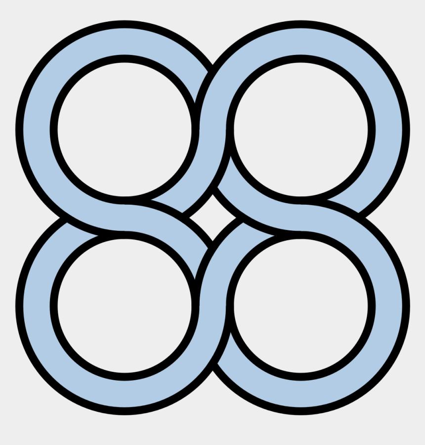 circle clipart designs, Cartoons - Svg Design Circle - Four Circles
