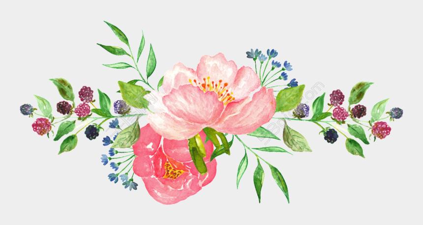 google clip art flowers, Cartoons - Transparent Watercolor Flowers - Transparent Flowers Png Watercolor