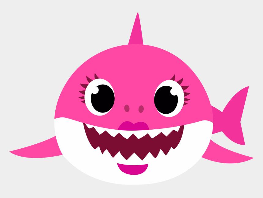 grandma shark clipart, Cartoons - Mommny Shark Png, Mutterhai, Tiburón Mamá, Mamãe Tubarão - Baby Shark Png Transparent