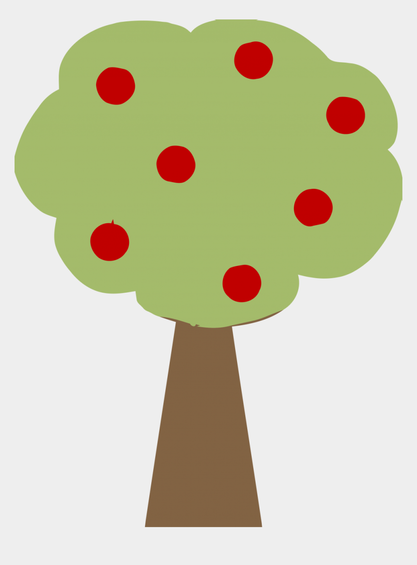 apple tree clipart to color, Cartoons - Tree Cute Clipart Png
