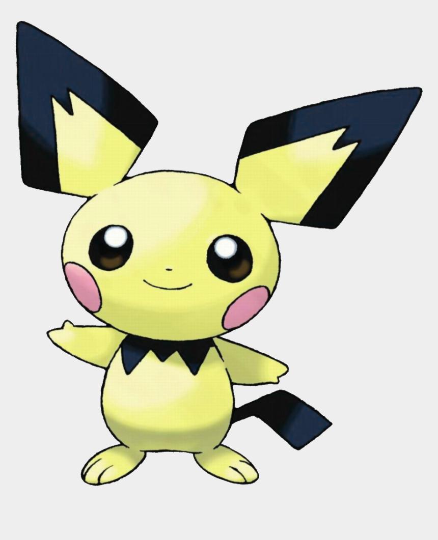 pikachu face clipart, Cartoons - Image Pichu Png Nintendo - Pichu Pokemon Pikachu