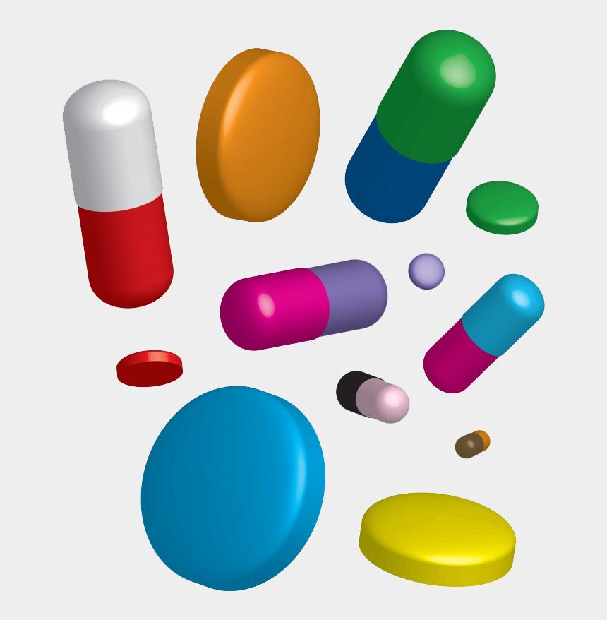 tablets pills clipart, Cartoons - Pharmaceutical Drug Cough Tablet Allergy Antihistamine - Повышенное Давление Таблетки