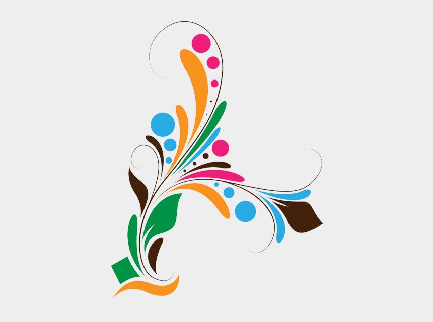 corel draw cliparts, Cartoons - Syed Imran - Floral-vectors - Vector Colourful Flower Design